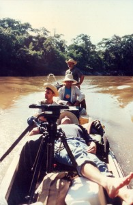 One of my trips to the Amazonian Rainforest, the Yandu Expedition, 1994. I took this photo at the Moa River, on the way to the Divisor Mountains Range, close to Brazil-Peru frontier.