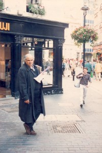 Oscar Grillo, London, Soho, 1990